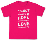 Youth: Trust Hope Love T-Shirt