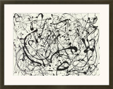 Nº. 14, cinza Arte por Jackson Pollock