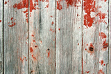 Red Rustic Barn Wood Background Photographic Print by Christin Lola