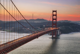 Morning Sky and South Tower, Golden Gate Bridge Photographic Print