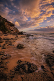 Cloudscape at Shipwreck Beach, South Kauai Photographic Print