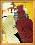 Englishman at Moulin Rouge Framed Giclee Print by Henri de Toulouse-Lautrec