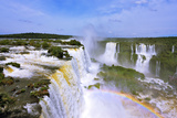 The Roaring Waterfalls in South America - Iguazu Photographic Print by Kushnirov Avraham