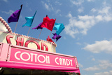 Cotton Candy Shop at American Carnival Photographic Print by Christin Lola