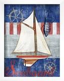 Maritime Boat II Print by Paul Brent