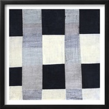 Gray Plaid 2 Poster by Laura Nugent