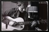 Ed Sheeran - Guitar Photo