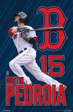 Boston Red Sox - D Pedroia 15 Posters