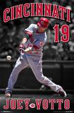 Cincinnati Reds - J Votto 15 Poster