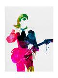 Lora Feldman - David Watercolor - Reprodüksiyon