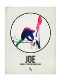 Joe Watercolor Kunstdrucke von David Brodsky
