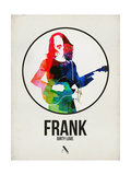 Frank Watercolor Plakater af David Brodsky