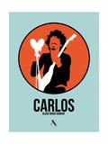 Carlos Poster by David Brodsky