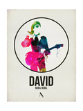 David Watercolor Prints by David Brodsky