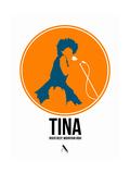 Tina Affiche par David Brodsky