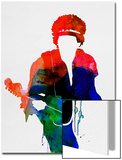 Jimi Watercolor Posters by Lora Feldman