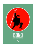 Bono Prints by David Brodsky