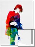 Kurt Watercolor Posters van Lora Feldman
