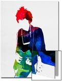 Bob Watercolor Posters av Lora Feldman