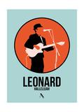 Leonard Plakat af David Brodsky