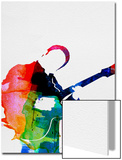 BB King Watercolor Posters av Lora Feldman