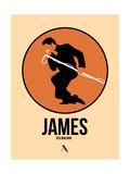 James Posters par David Brodsky