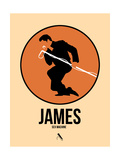 James Posters af David Brodsky
