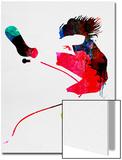 Eddie Watercolor Posters av Lora Feldman