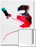 Eddie Watercolor Posters van Lora Feldman