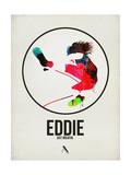 Eddie Watercolor Poster von David Brodsky
