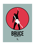 Bruce Prints by David Brodsky