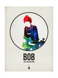 Bob Watercolor Prints by David Brodsky