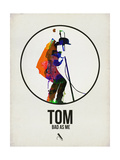Tom Watercolor Prints by David Brodsky
