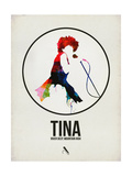 Tina Watercolor Affiches par David Brodsky