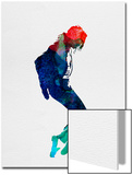 Michael Watercolor Posters by Lora Feldman