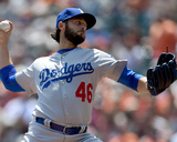 Apr 23, 2014, Los Angeles Dodgers vs San Francisco Giants - Mike Bolsinger Photo by Thearon W Henderson