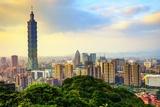 Taipei, Taiwan Skyline Photographic Print by  SeanPavonePhoto