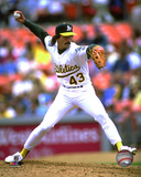 Dennis Eckersley 1992 Action Photo
