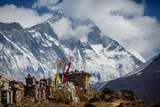 Himalayan Mountains View Photographic Print by  ekashustrova