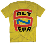 Salt-N-Pepa - S-N-P Logo on Yellow T-shirts