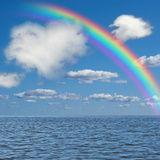 Fluffy Cloud like a Heart Photographic Print by Natalia Merzlyakova