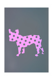 French Bulldog Polka Dots Prints
