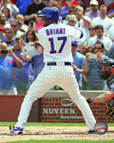Kris Bryant 1st MLB at bat, April 17, 2015 Photo