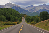 Driving in the Rocky Mountains, USA Photographic Print by robert cicchetti