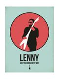 Lenny 1 Print by David Brodsky