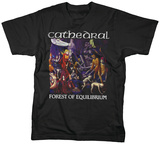 Cathedral - Forest Of Equilibrium T-shirts