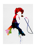 Tina Watercolor Poster von Lora Feldman