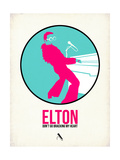 Elton Posters by David Brodsky