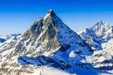 Matterhorn, Swiss Alps - Panorama Photographic Print by  Gorilla