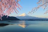 Mount Fuji, View from Lake Kawaguchiko Reprodukcja zdjęcia autor geargodz